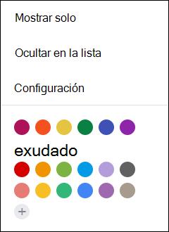 Selecciona Configuración en el calendario de Google.