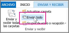 Botón Enviar todos en Outlook 2013