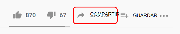 Compartir en YouTube
