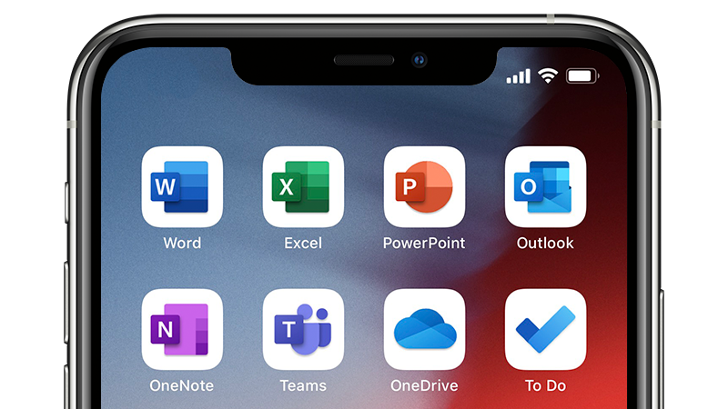 Foto de un icono de aplicación móvil