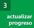 Paso 3: progreso de la actualización