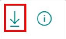 Botón Descargar informe