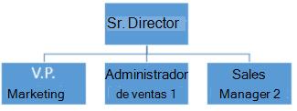 Organigrama simple