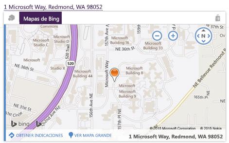 Mapa de Bing