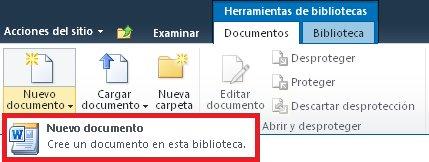 Agregar un nuevo documento a una biblioteca de documentos