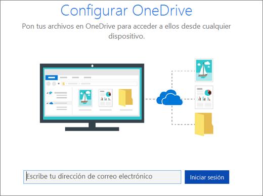 Configuración de sincronización de SharePoint Online