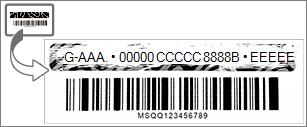 Rasque la capa de papel de aluminio para descubrir la clave de producto de Office.