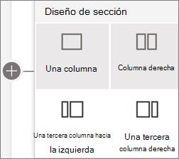 Diseños de sección