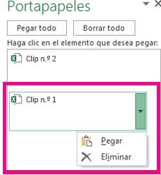 Puede eliminar el Clip 1.