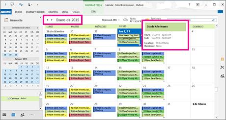 Cambiar El Modo En Que Ve El Calendario De Outlook Outlook