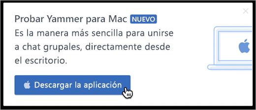 En el producto de mensajería para Mac