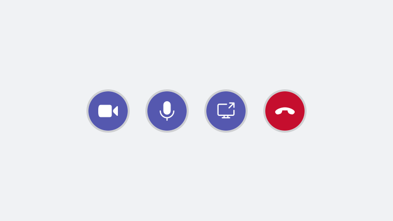 Botón de la pantalla de compartir