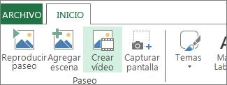 Crear vídeo