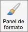 Botón Panel de formato