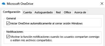Para deshabilitar todas las notificaciones para los archivos compartidos de OneDrive, vaya a la configuración de su aplicación de OneDrive y desactive esta opción.