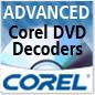 Descodificadores avanzados de Corel DVD