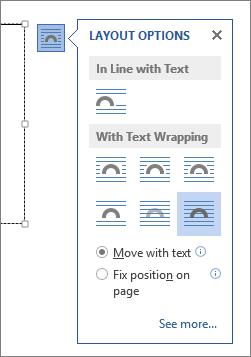 Opciones de diseño del cuadro de texto