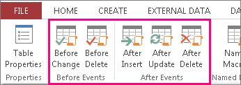 Agregar una macro de datos condicionada por los eventos