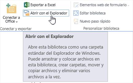Abrir de 2016 de SharePoint con el explorador en IE11