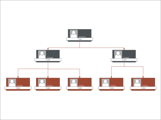 Descargar ChartTemplate jerárquicos de la organización