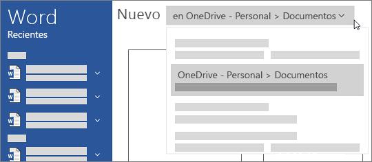 Nuevo OneDrive