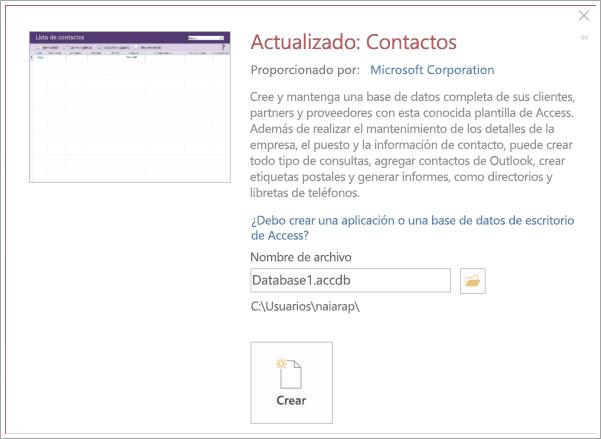 Captura de pantalla de la interfaz de la lista de contactos