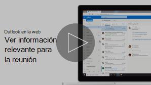 Imagen en miniatura del vídeo de información de reuniones