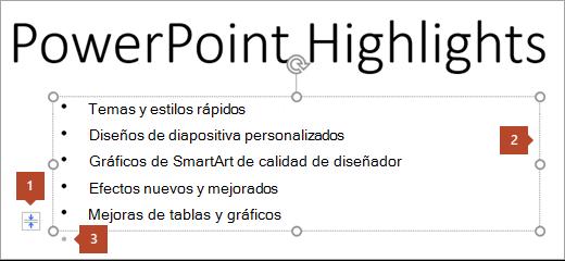 Texto de la diapositiva con marcador de posición