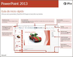 Guía de inicio rápido de PowerPoint 2013