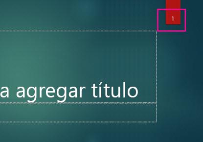 Tema Ión con número de diapositiva