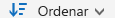 Botón Ordenar de OneDrive para la Empresa