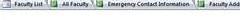 Imagen de cómo se muestran los objetos abiertos cuando se selecciona la opción Documentos con pestañas