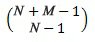 Funktsiooni COMBINA võrrand