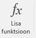 Nupp Lisa funktsioon.