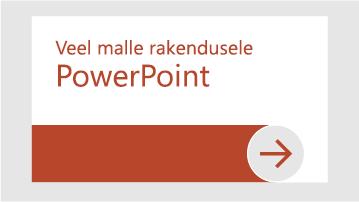 Veel PowerPointi malle