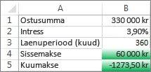 Lahtrid B4 ja B5 vastavad tingimustele ja on seega vormindatud rohelistena