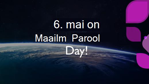 6. mai 2021 on maailma paroolipäev