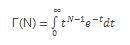 Funktsiooni GAMMA võrrand