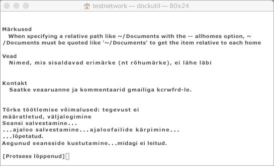 Käivitage dokkimise tööriist, kasutades avamiseks klahvikombinatsiooni Control + Click.