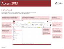 Access 2013 lühijuhend