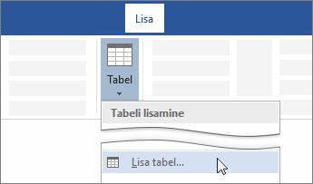 Nupp Lisa tabel Wordi lindil
