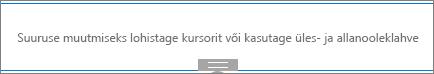 Liitmik veebiosa redigeerimisrežiimis