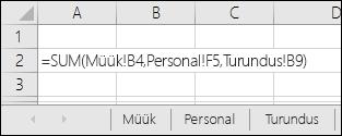 Exceli mitmeleheline valemiviide