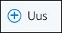 Outlooki veebirakendus: meilisõnumi koostamise ikoon Uus