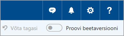 Outlook.com-i beetaversiooniga liitumine