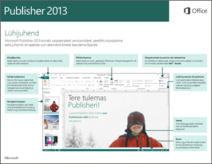 Publisher 2013 lühijuhend