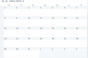 Kalendrivaade