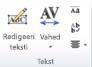 Jaotis WordArt-tekst rakenduses Publisher 2010