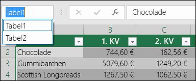 Exceli aadressiribale valemiribast vasakul