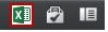 Exceli ikoon veebirakenduses Excel Web App